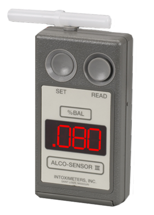 Currently, the Alco-Sensor III is the primary device used for P.B.T.'s in Michigan